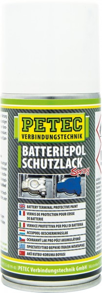 Petec Batteriepol Schutzlack Spray 150 ml