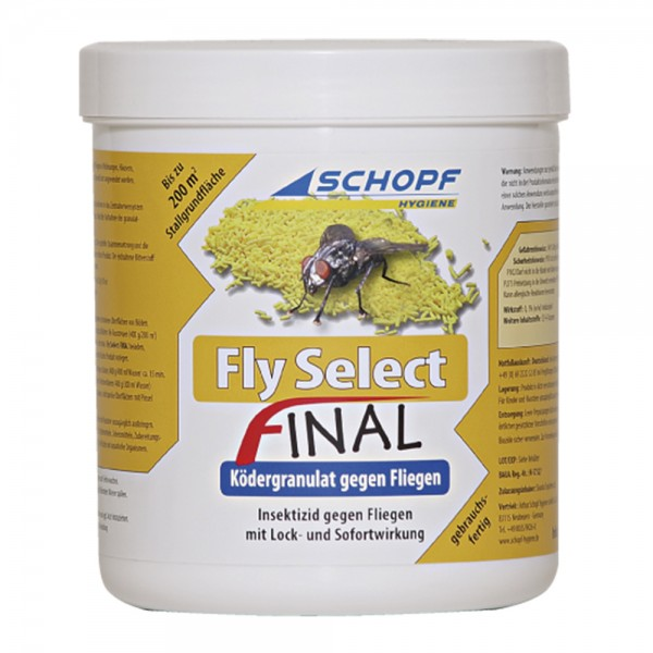 Schopf Fly Select Final Fliegenköder Granulat