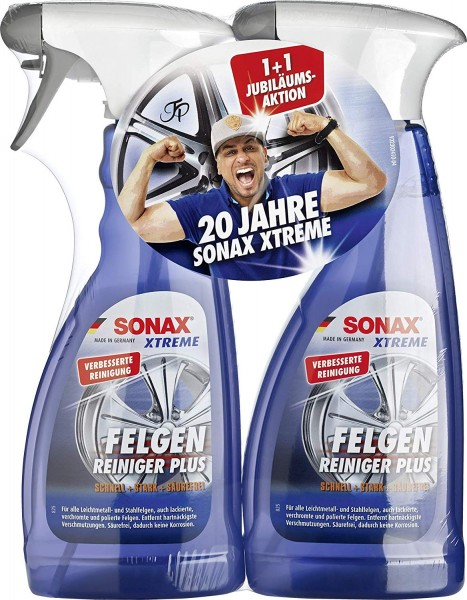Sonax Xtreme FelgenReiniger PLUS 500 ml 1+1 GRATIS Aktionsset