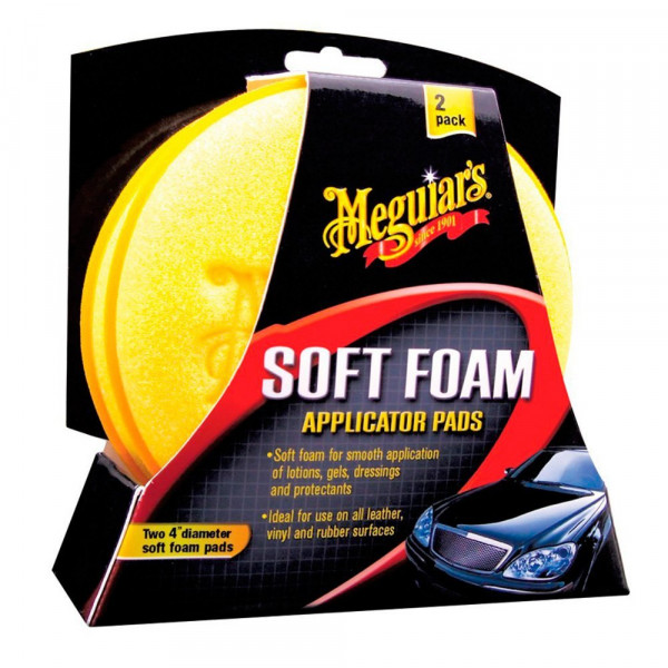 Meguiars Soft Foam Applicator Pads 2er