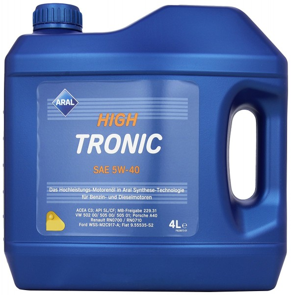 5W-40 Aral High Tronic 4 Liter